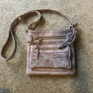 Claire's Leather Crossbody
